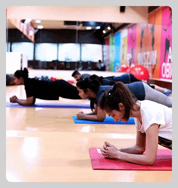 aerobic classes gym membership