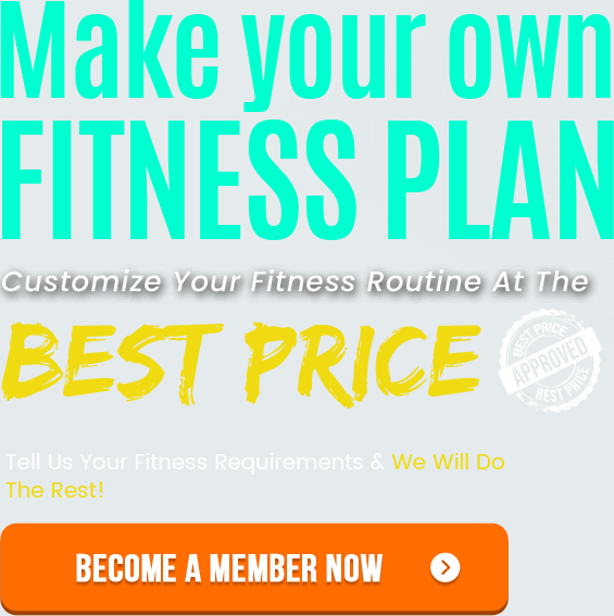 Make your own fitness plan