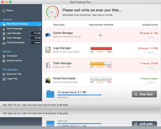disk cleanup apple mac