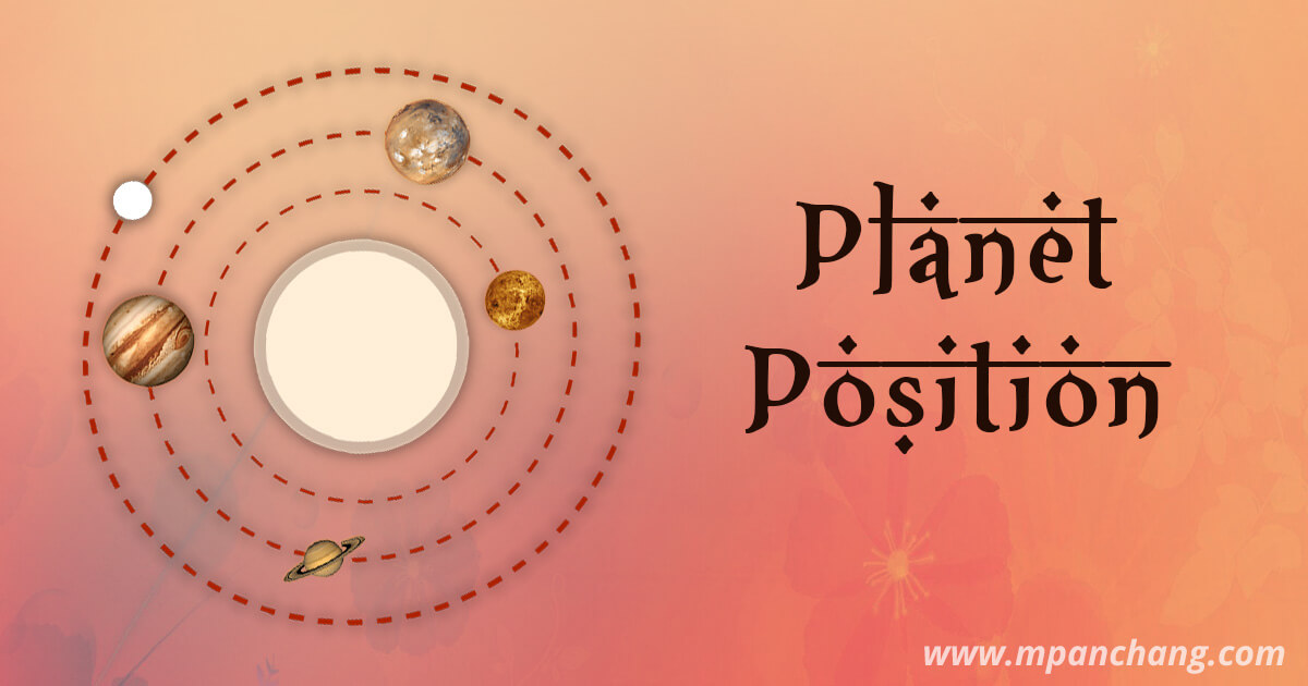 Ephemeris | Know Planetary Positions Today, By Date, Right