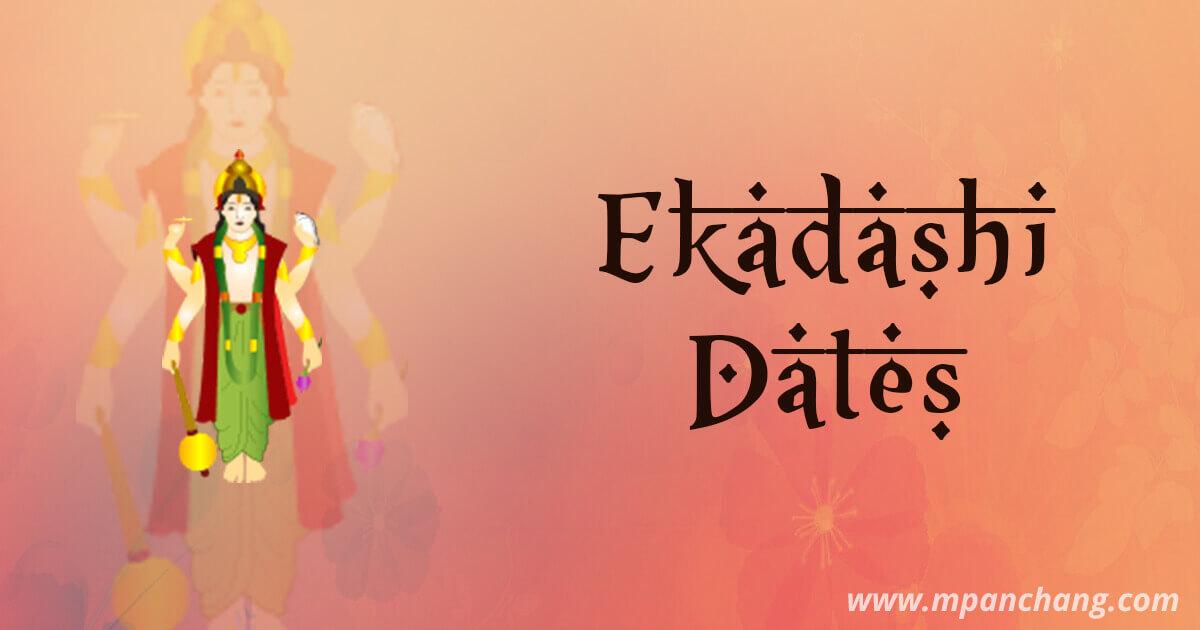 Ekadashi Vrat Dates and Fast Rules | Ekadashi Calendar and